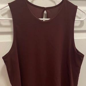 Lululemon Burgundy Tank Top